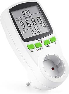 Arendo - Instrumento de medida de costes energéticos - contador de electricidad - indicador de tiempo energía costes - ele...