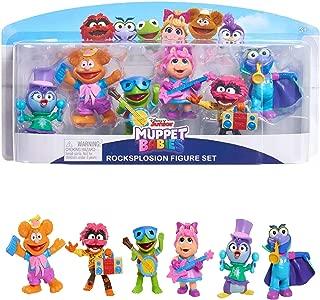 Disney Junior Muppet Babies Rocksplosion Set Mini Figure 6-Pack! ONLY at Target!