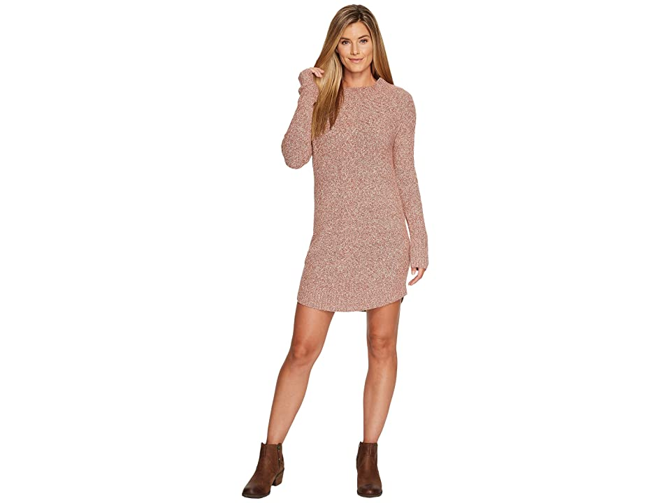 Prana Cadwell Dress (Lacquered Rose) Women