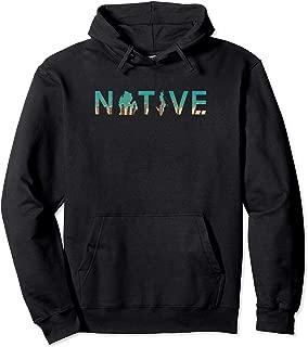 Native Michigander Michigan Dunes State Great Lakes Hoodie