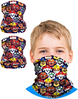 Boys Paw Patrol Gaiter Face Mask with UV Sun Protection...