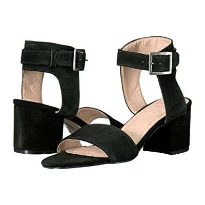 LFL by Lust For Life Saxon (Black Suede) High Heels