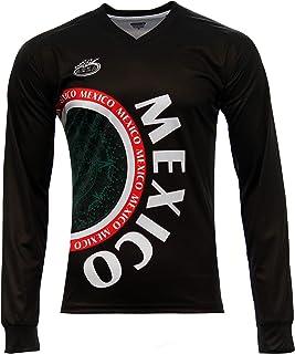 d8258151a Mexico Calendario Azteca Arza Soccer Jersey Long Sleeve