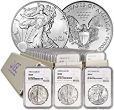 Best ngc silver eagle set Reviews