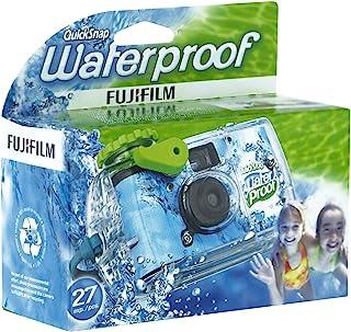 Fujifilm Quicksnap Marine - Cámara desechable impermeable (27 fotos impermeable hasta 10 m) (importado)