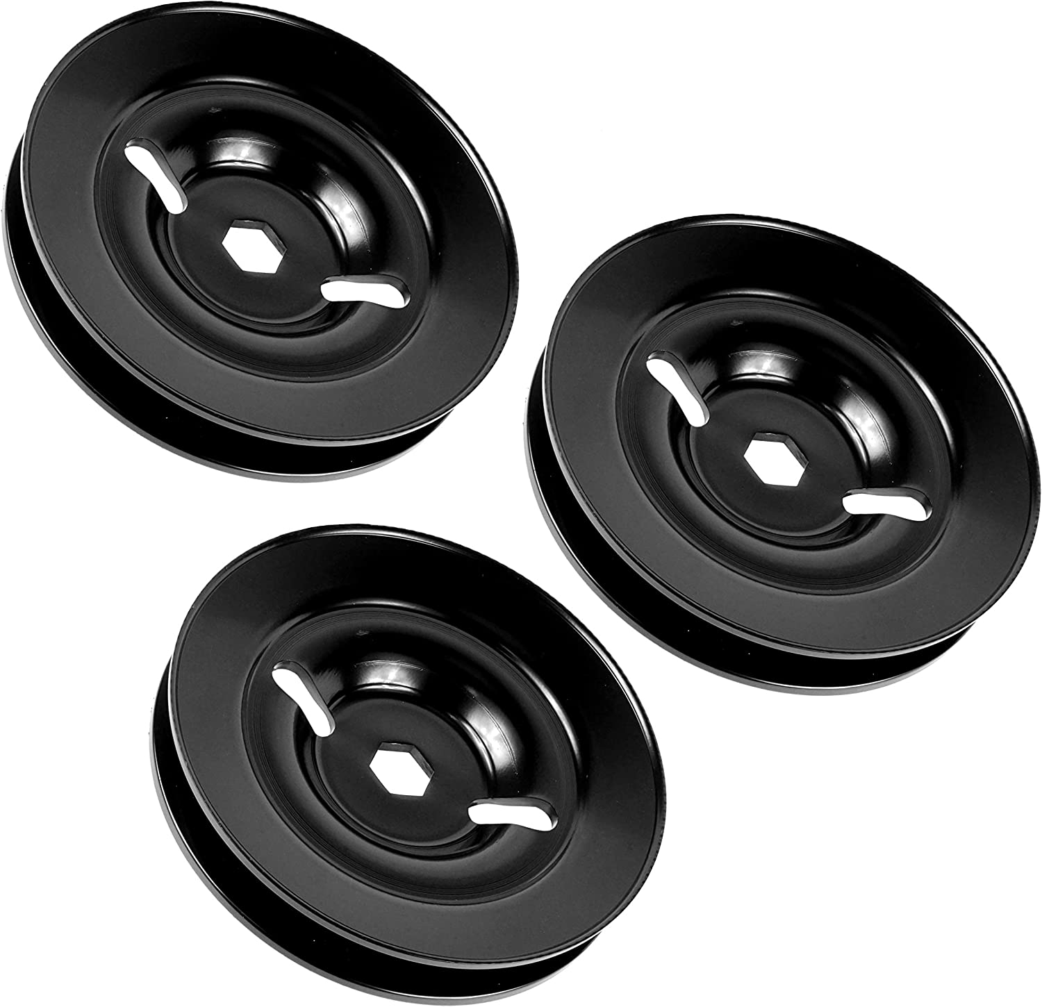 Caltric 3 Spindle Max 48% OFF Pulley Complete Free Shipping Compatible M155979 L130 Deere John with