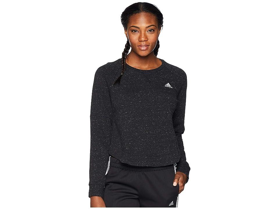 adidas Sport-2-Street Tunic (Black Melange/White) Women