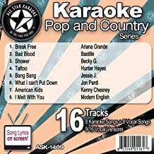 All Star Karaoke Pop and Country Series (ASK-1409)