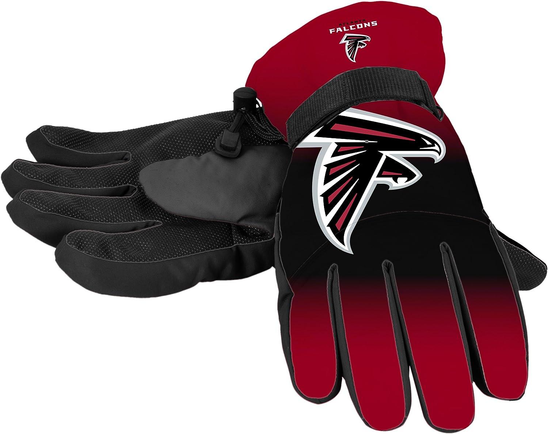 Atlanta Falcons NFL Gradient Big Logo Insulated L Gloves - Virginia Quantity limited Beach Mall XL
