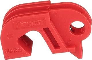 Panduit PSL-CBIL I-Line Circuit Breaker Lockout Device, Red