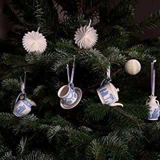 Wedgwood 260Th Anniversary Ornaments Iconic Teacup & Saucer