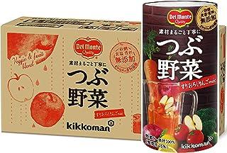 デルモンテ つぶ野菜 すりおろしりんごmix 125ml ×18本