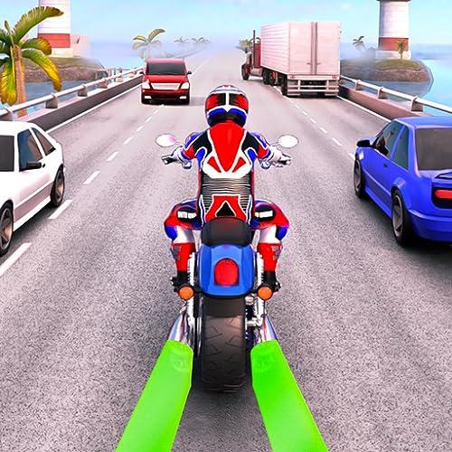 Light Bike Racer Highway Rider Traffic Racing Game