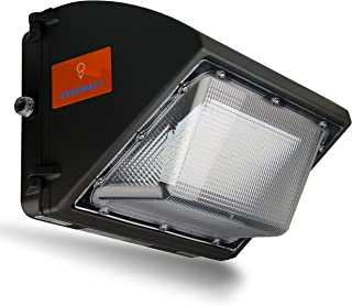 EverWatt High-Efficiency 700W Metal-Halide Equivalent, 135W LED Outdoor Wall Pack Light with Photocell Sensor, 5000K Cool White, 18000 Lumens, Waterproof, Easy Mount, Commercial/Industrial, UL & DLC