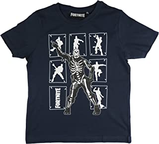 Camiseta Azul Fortnite Bailes (Azul Marino, 10 años)