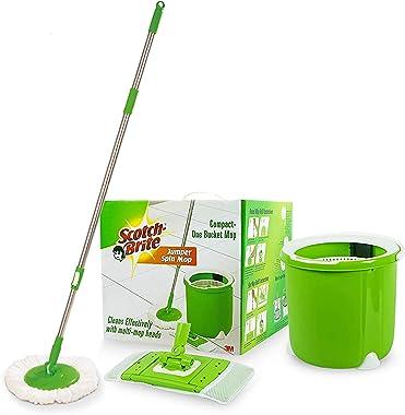 Scotch-Brite Jumper Spin Mop compact one Bucket Mop