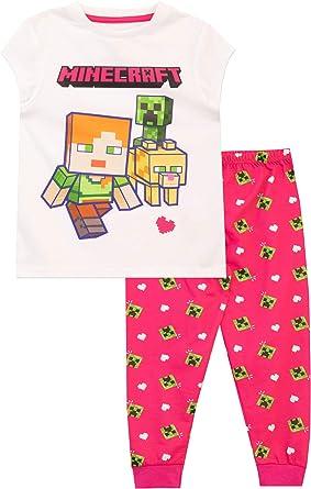 Minecraft Pijamas para Niñas