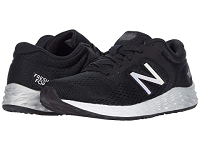 New Balance Kids Fresh Foam Arishi v2 (Little Kid/Big Kid) (Black/Silver 2) Boy