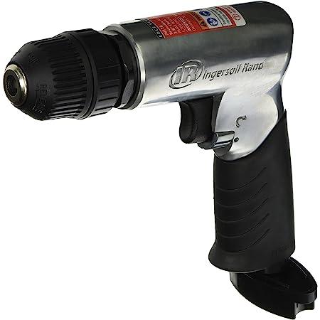 Keyless Chuck 3//8/_Inch Low Noise Muffler Straight Handle Type 2600 RPM Neiko 30106B 3//8 Inline Mini Air Drill