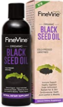 100% Pure Black Seed Oil 8oz| Black Seed Oil Organic Cold Pressed Helps Immune System, Joints & Digestion| Black Cumin Seed Oil Enhances Hair & Skin| Blackseed Oil Organic & Ve-gan| Nigella Sativa