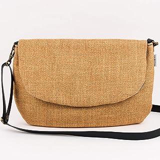 Bolso pequeño bandolera con bolsillos interiores