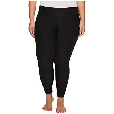 Nike Power Legend Tight (Size 1X-3X) (Black/Cool Grey) Women