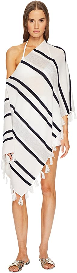 Letarte - Striped Topper w/ Tassels