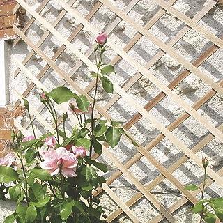 comprar comparacion intermas 170221 Celosía de Madera, Marrón, 25x2x100 cm