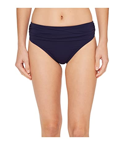 Tommy Bahama Pearl High-Waist Hipster Bikini Bottom (Mare Navy) Women