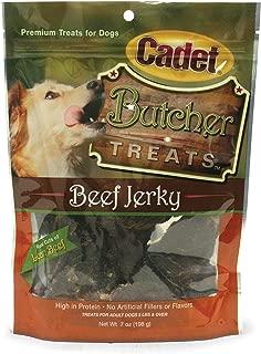 Cadet Beef Jerky Butcher Treat Bag, 7-Ounce