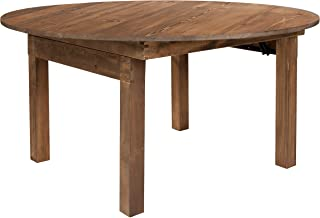 Best round pine dining table Reviews