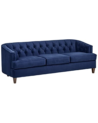 Blue Velvet Sofa: Amazon.com