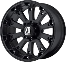 20x9 KMC XD Offroad Series XD800 Misfit 8x180 0 Offset (5.00 inch backspace) 124.2 Hub - Matte Black - XD80029088700 [ Authorized Dealer]