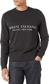 Armani Exchange Men's A x Pullover City Sweatshirt