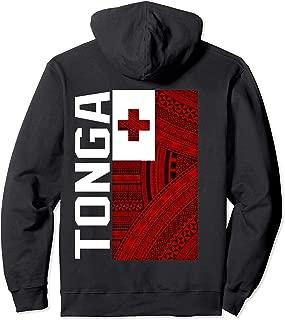 Tonga Flag Design Hoodie