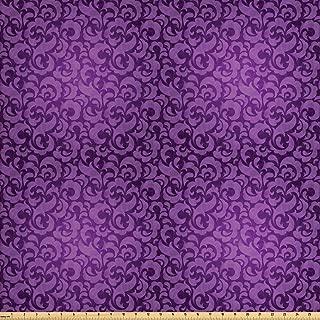Best violet floral fabric Reviews