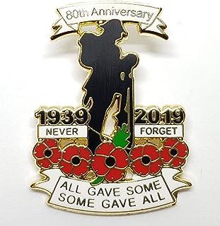 best badge: 1939-2019 WW2 Military Veteran Soldier Never