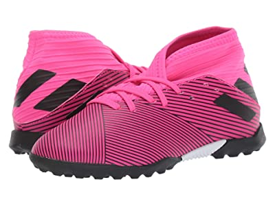 adidas Kids Nemeziz 19.3 TF Soccer (Little Kid/Big Kid) (Shock Pink/Black) Kid