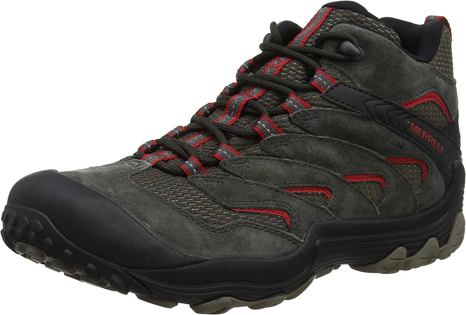 Merrell Men's Cham 7 Limit Mid Waterproof High Rise Hiking Boots