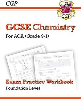 New Grade 9-1 GCSE Chemistry: AQA Exam Practice Workbook - Foundation (CGP GCSE Chemistry 9-1 Revision)