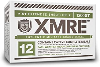 product image for XMRE Meals 1300XT - 12 Case (Meal Ready to Eat - Military Grade) No Heaters