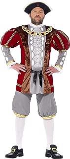 Smiffy's Men's Henry Viii Deluxe Costume