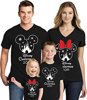 Mouse Family Trip Men Women Kids Boys T-Shirts