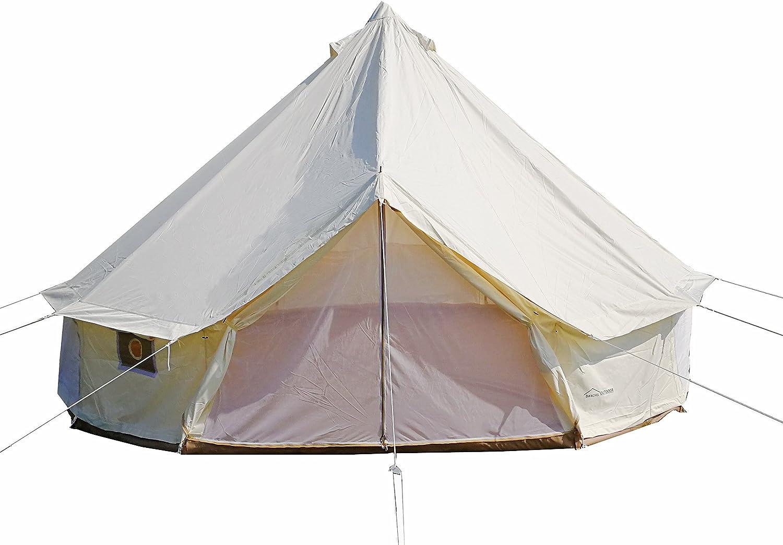 DANCHEL OUTDOOR 4 Season Oxford Waterproof Glamping Tent T OFFicial shop Yurt Indefinitely