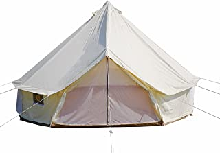 DANCHEL Four-Season Waterproof Bell Tent for Glamping