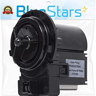 Ultra Durable DC31-00054A Washer Drain Pump Motor Assembly Replacement Part by Blue Stars - Exact Fit for Samsung Maytag Kenmore Washers - Replaces AP4202690 DC31-00016A 1534541 PS4204638