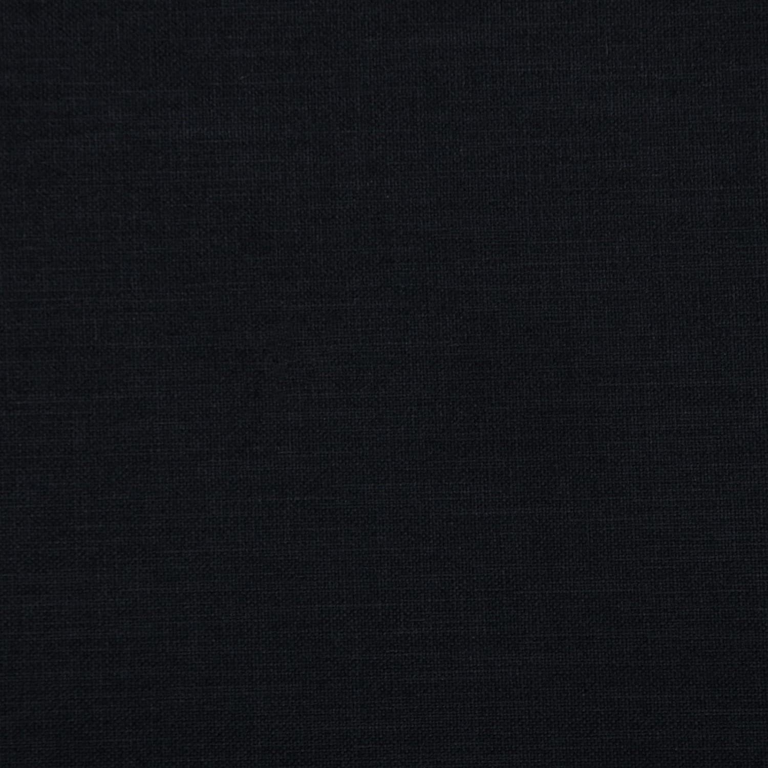 Charcoal Black Solid Linen Super-cheap Upholstery Fabric New sales yard the by