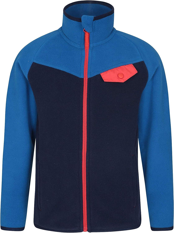 Mountain Warehouse Vesuvius Kids Contrast Fleece - Winter Pullover