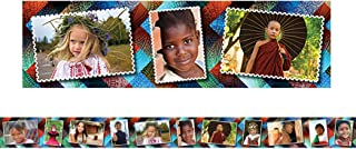 Multicultural Kids Postcards Straight Border Trim (EP63290)