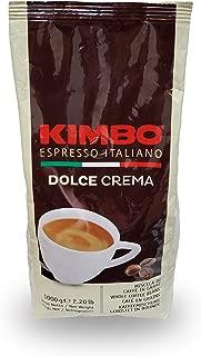 Kimbo Espresso Dolce Crema Whole Bean Coffee, 2.2 lbs
